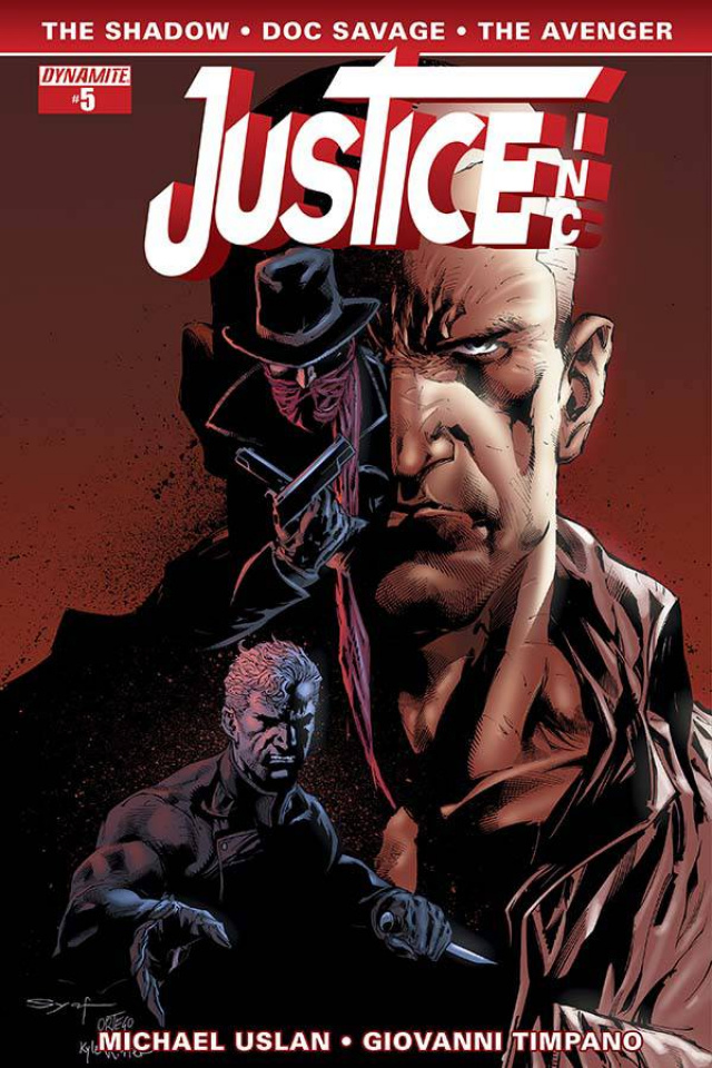 Justice, Inc. #5 (Syaf Cover)