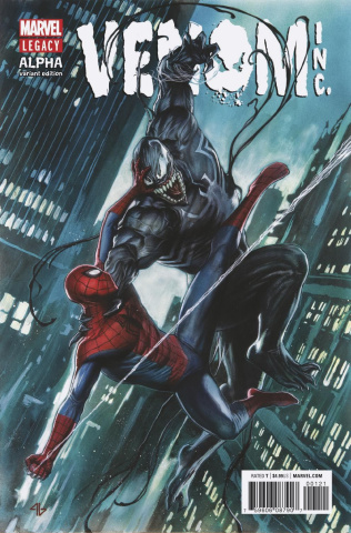The Amazing Spider-Man: Venom Inc. - Alpha #1 (Granov Cover)