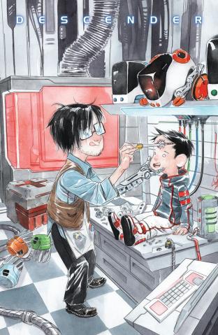 Descender #27 (Li'l Robot Nguyen Cover)