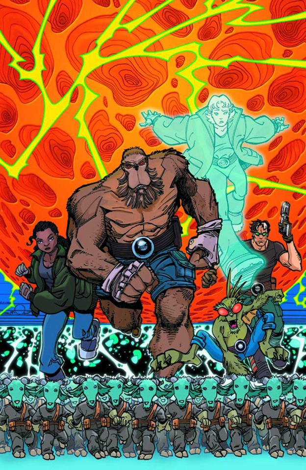 Perhapanauts: Danger Down Under #5 (Simonson Cover)