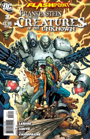 Flashpoint: Frankenstein and the Creatures of the Unknown #3