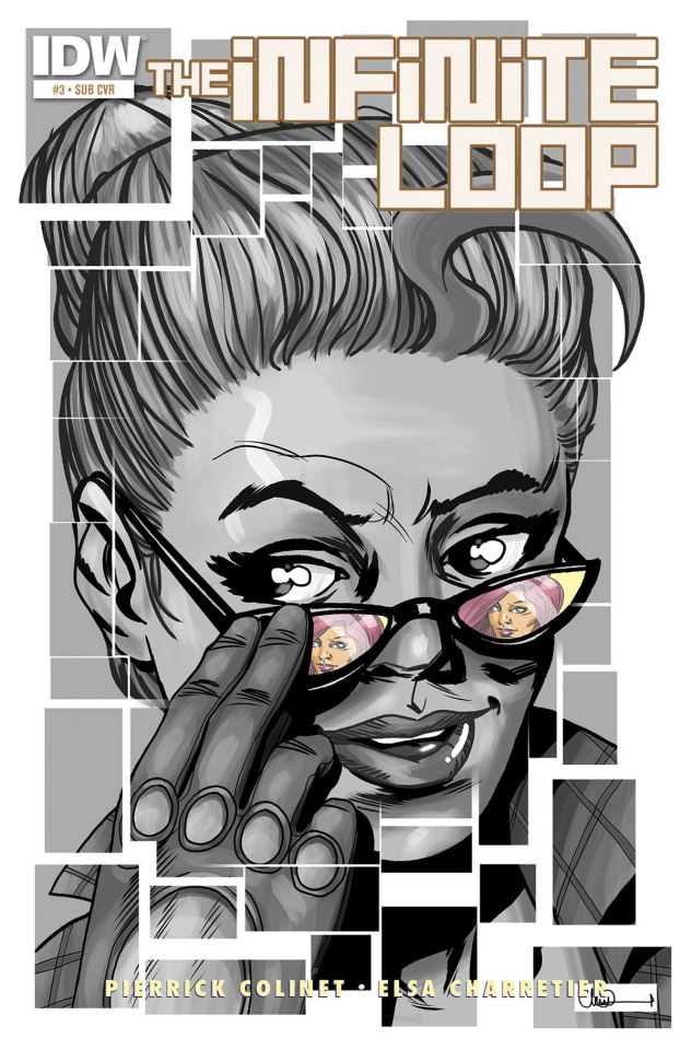 The Infinite Loop #3 (Subscription Cover)