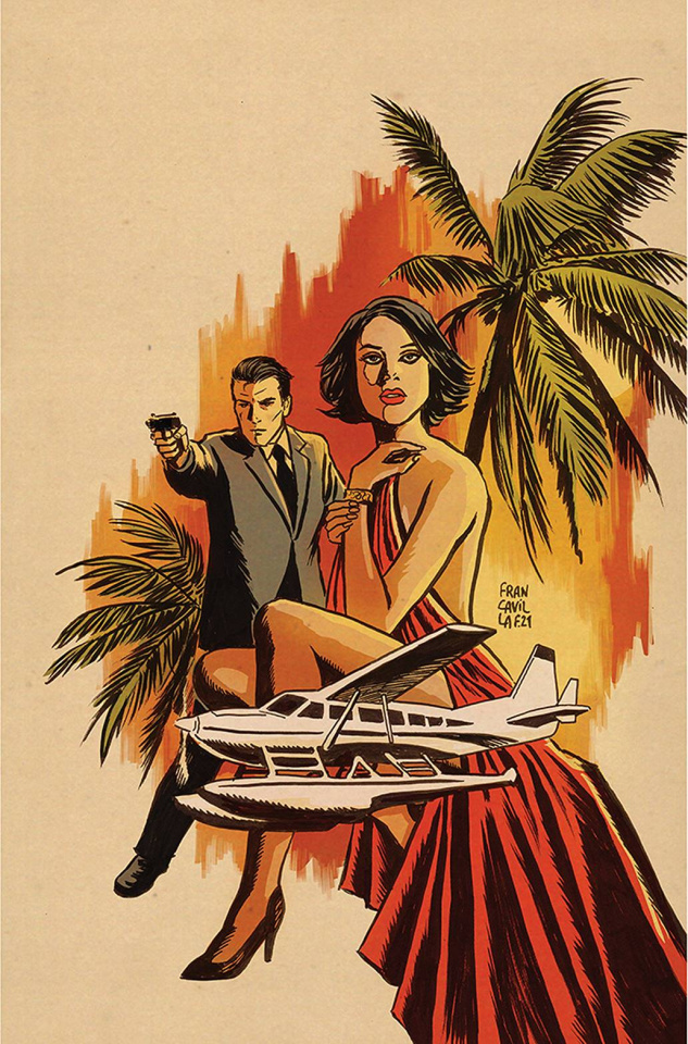 James Bond: Himeros #1 (Francavilla Virgin Cover)