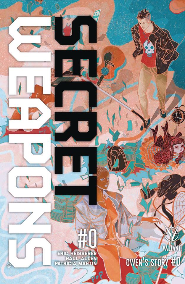 Secret Weapons: Owen's Story #0 (10 Copy Cover)