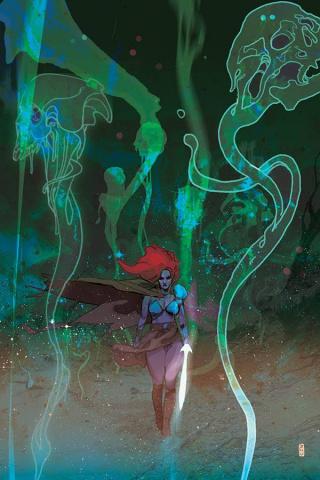 Killing Red Sonja #3 (25 Copy Ward Virgin Color Cover)