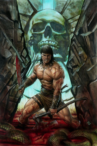 Conan the Barbarian #1 (Granov Cover)