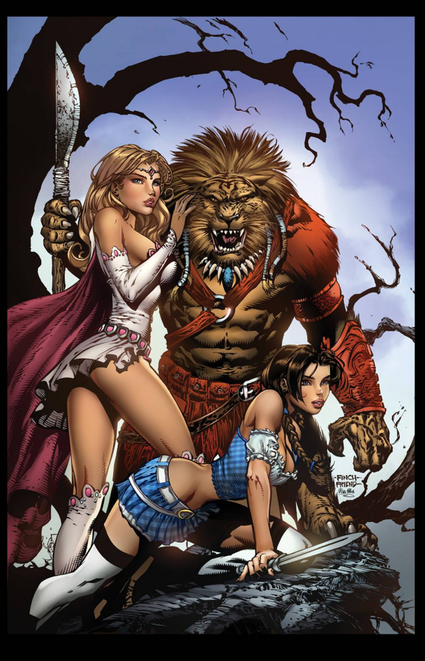 Grimm Fairy Tales: The Warlord of Oz #1 (Finch Cover)