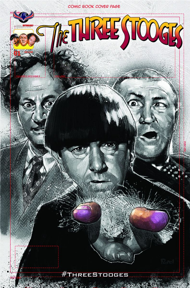 The Three Stooges: The Curse of Frankenstooge (Subscription Cover)