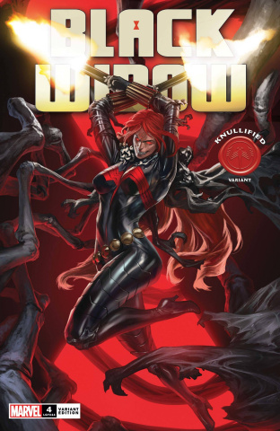 Black Widow #4 (Skan Knullified Cover)