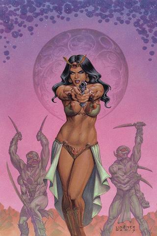 Dejah Thoris #2 (Linsner Virgin Cover)