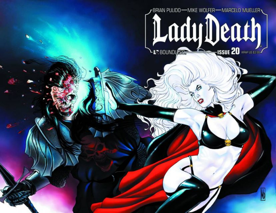 Lady Death #20 (Wrap Cover)