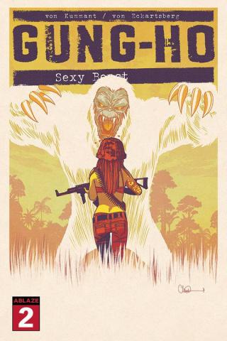 Gung-Ho: Sexy Beast #2 (Charlie Adlard Cover)
