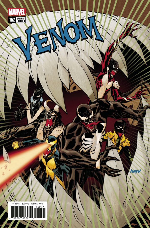 Venom #162 (Poison X Johnson Cover)