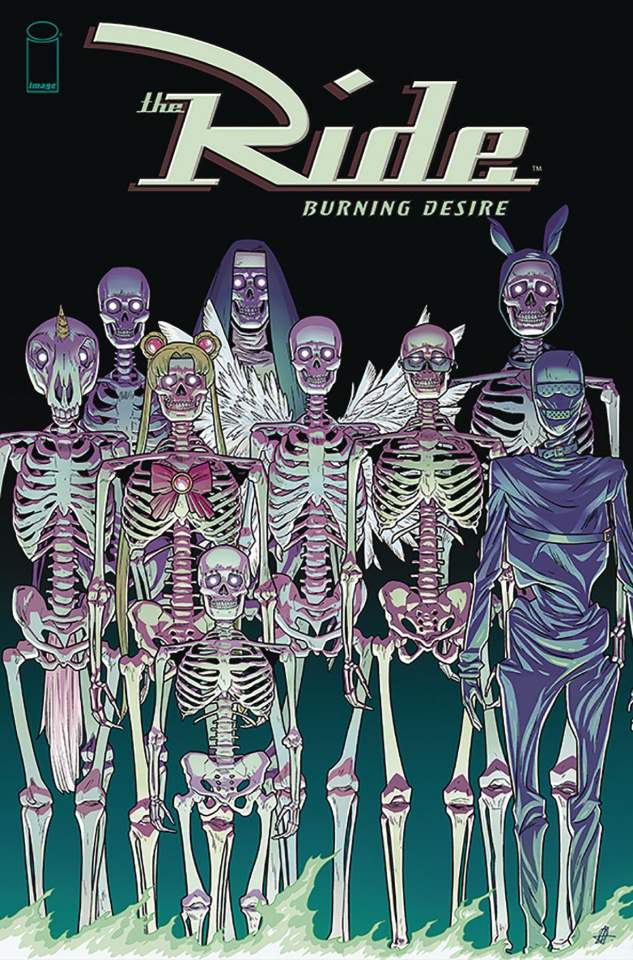 The Ride: Burning Desire #4 (Hillyard Cover)