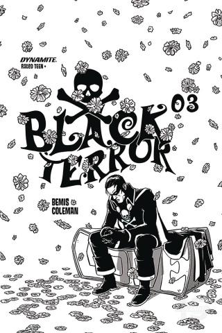 Black Terror #3 (20 Copy Fornes B&W Cover)