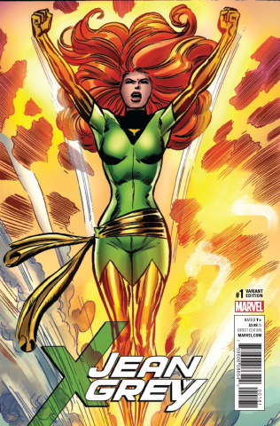 Jean Grey #1 (Cockrum Remastered Cover)