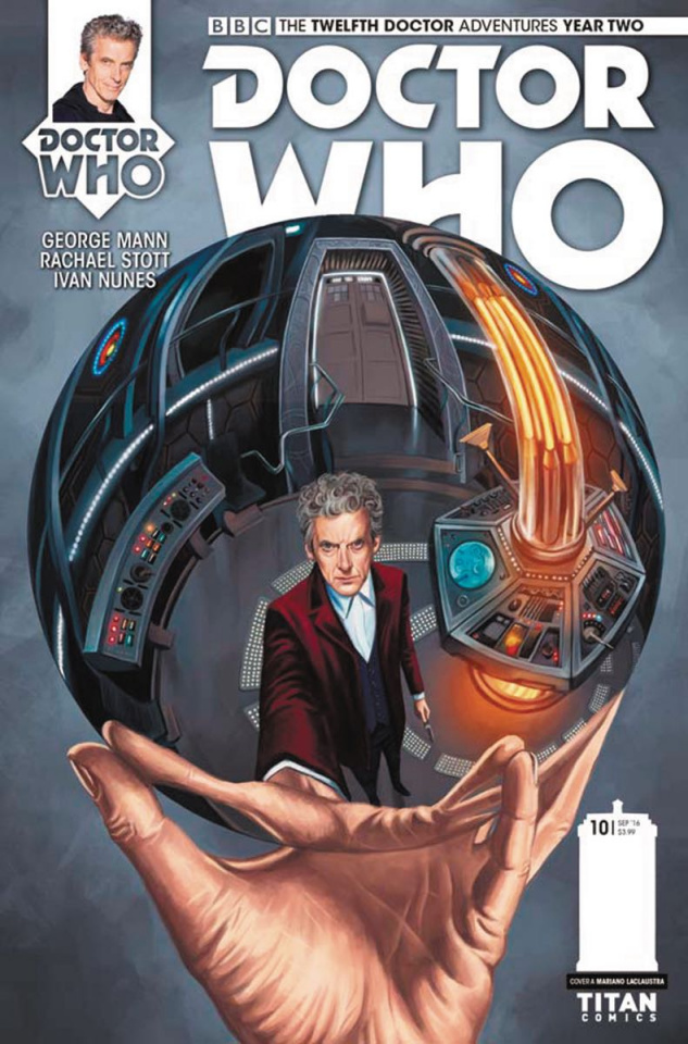 Doctor Who: New Adventures with the Twelfth Doctor, Year Two #10 (Laclaustra Cover)