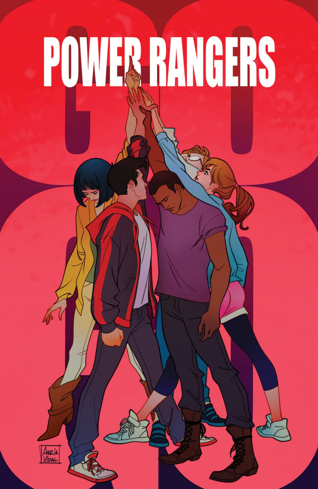 Go, Go, Power Rangers! #28 (Preorder Mercado Cover)