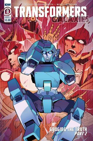 Transformers: Galaxies #8 (Miyao Cover)