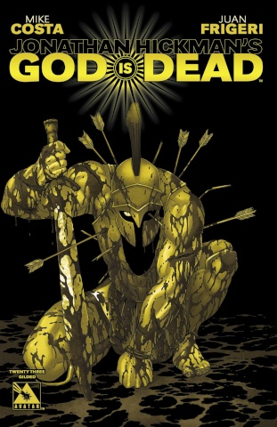 God Is Dead #23 (Gilded Retailer Cover)
