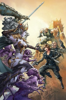 Grimm Fairy Tales: Escape From Monster Island #6 (Malsuni Cover)