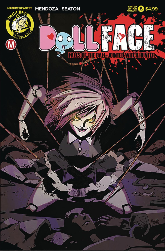 Dollface #8 (Maccagni Pin Up Cover)