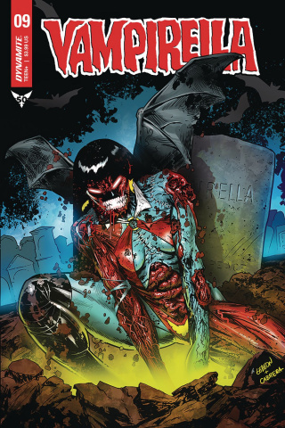 Vampirella #9 (10 Copy Zombie Cover)