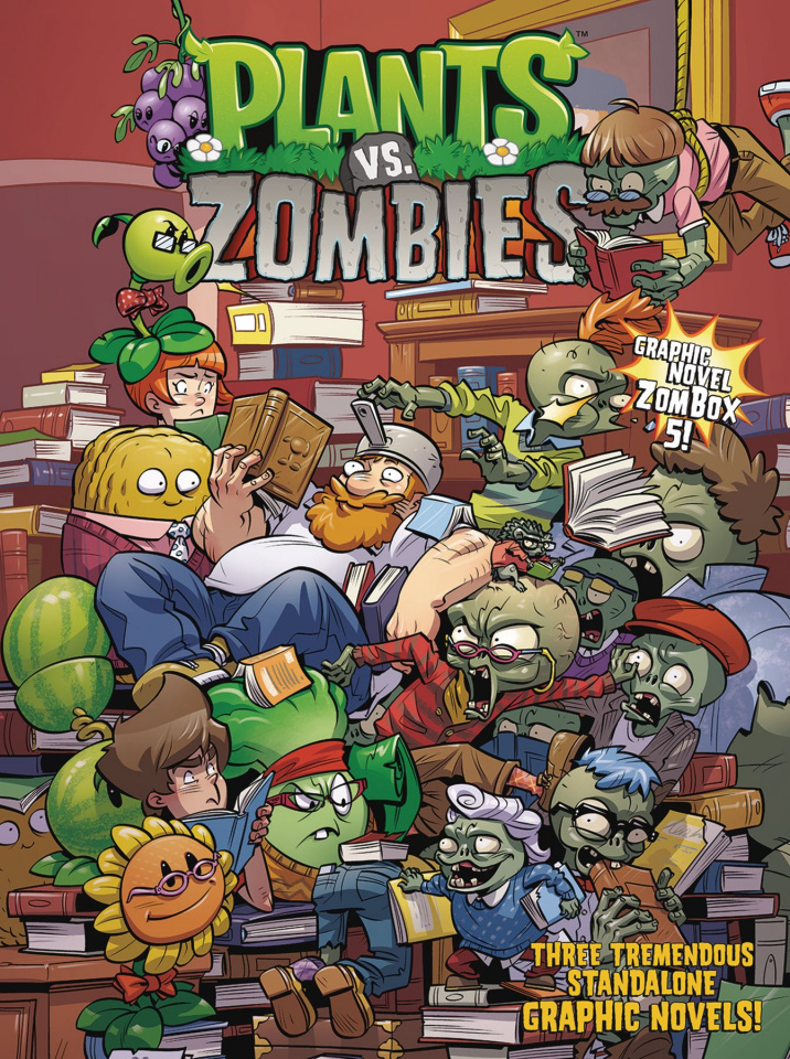 Plants vs. Zombies Vol. 5 (Boxed Set)