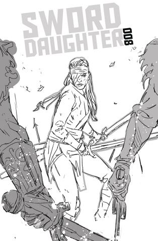 Sword Daughter #8 (Chater Cover)