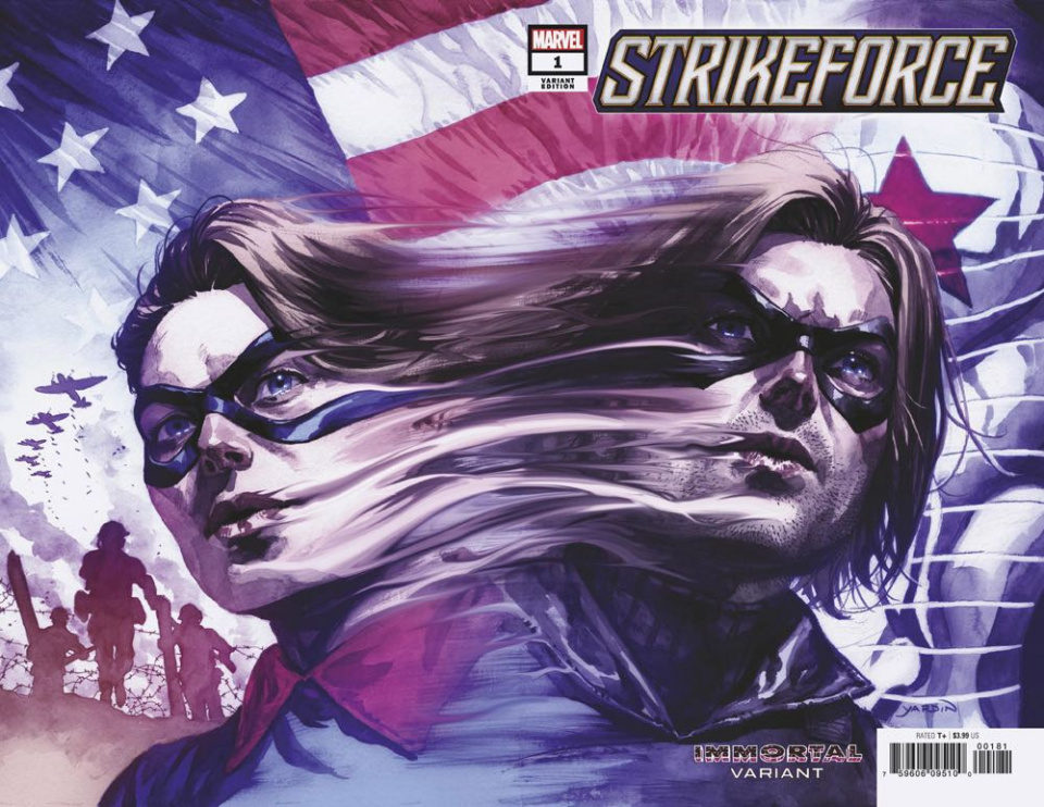 Strikeforce #1 (Yardin Immortal Wrapped Cover)