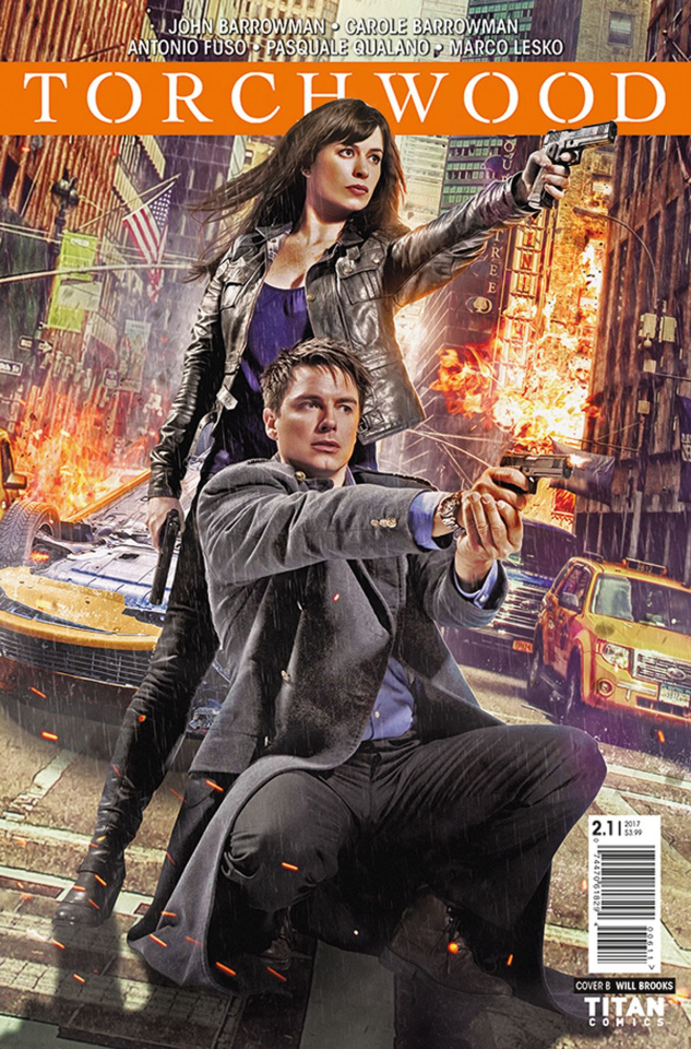 Torchwood 2 #1 (Photo Cover)