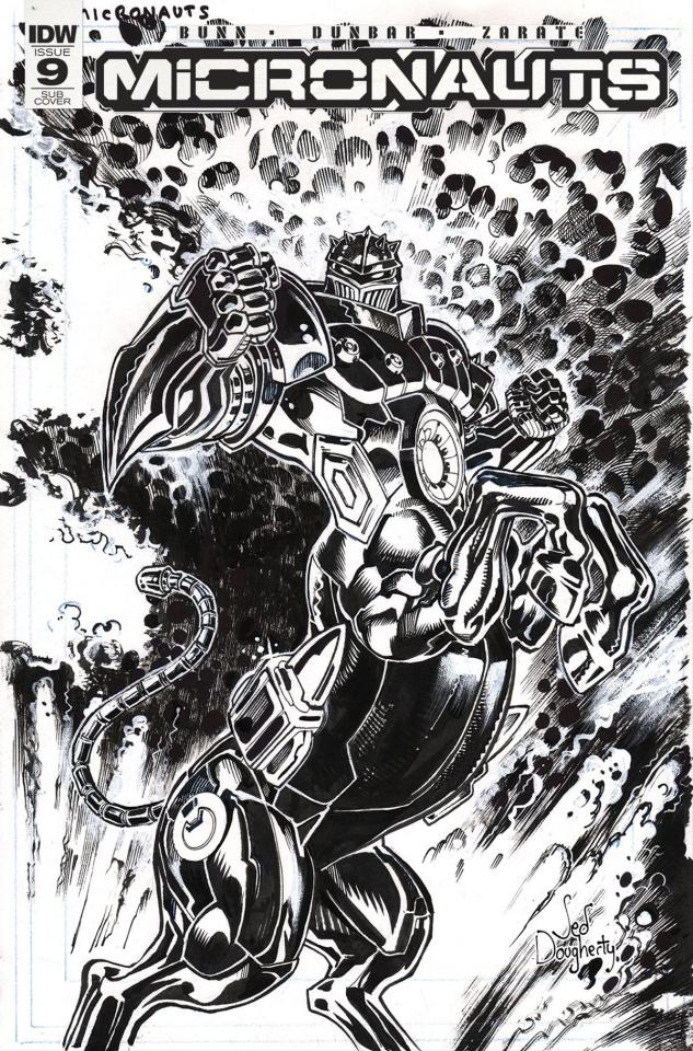Micronauts #9 (Artist's Edition)
