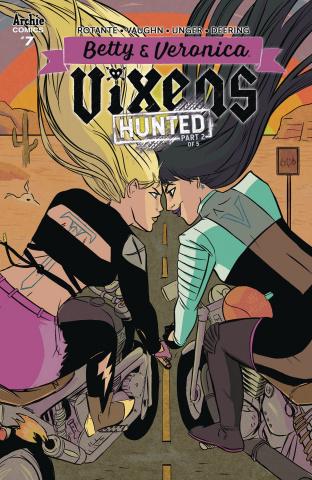 Betty & Veronica: Vixens #7 (Jen Vaughn Cover)