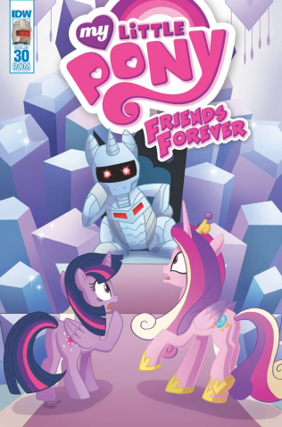My Little Pony: Friends Forever #30 (ROM Cover)
