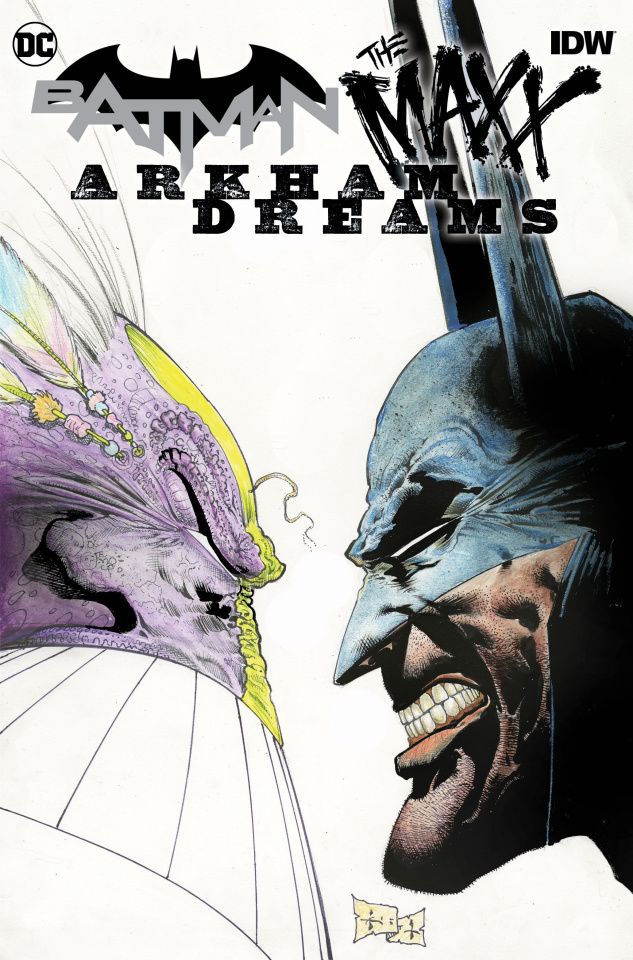 Batman / The Maxx: Arkham Dreams #1 (Kieth Cover)