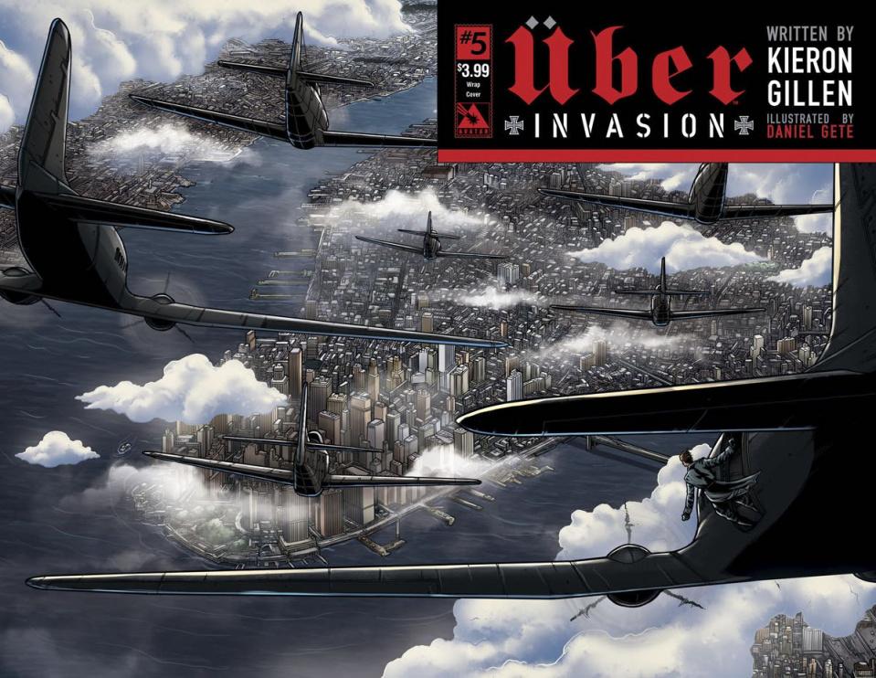 Über: Invasion #5 (Wrap Cover)