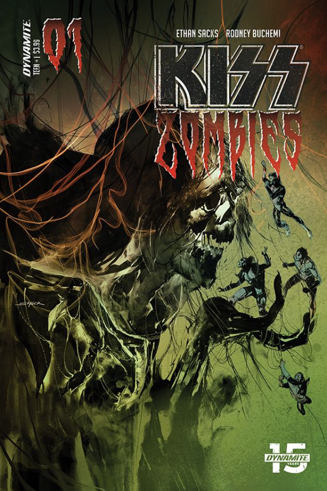 KISS: Zombies #1 (Sayger Cover)