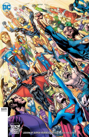 The Legion of Super Heroes #1 (Local Comic Shop Day 2019)