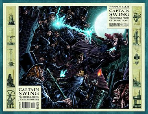 Captain Swing #4 (Wrap Cover)