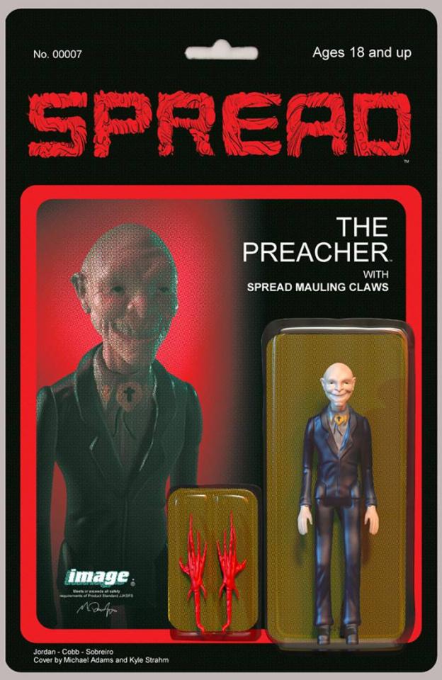 The Spread #7 (10 Copy Adams Cover)