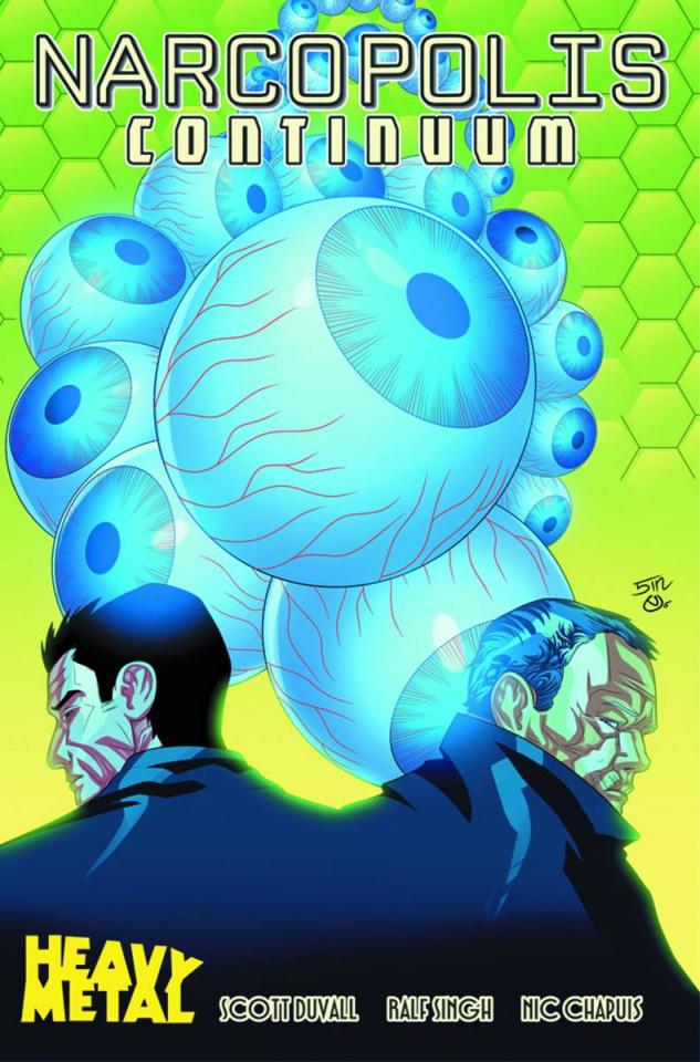 Narcopolis: Continuum #4 (Signgh & Chapuis Cover)