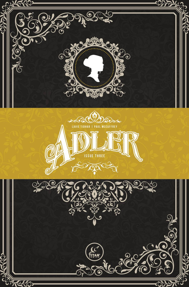 Adler #3 (Victorian Homage Cover)