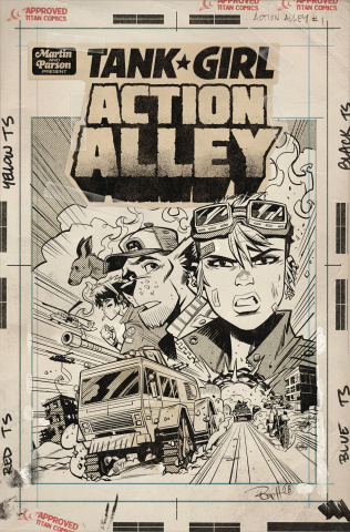 Tank Girl: Action Alley #1 (Parson Artist's Edition)