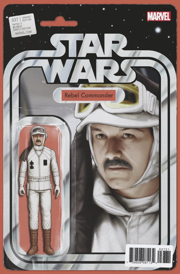 Star Wars #37 (Christopher Action Figure Cover)