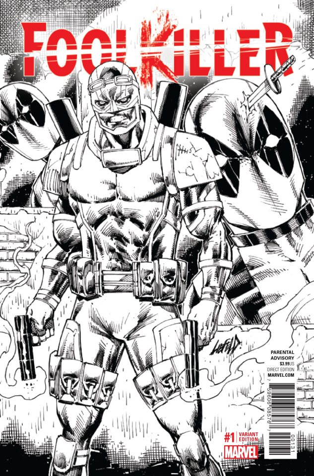 Foolkiller #1 (Liefeld Sketch Cover)