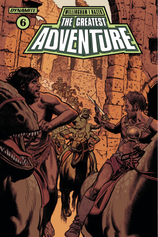 The Greatest Adventure #6 (Smallwood Cover)