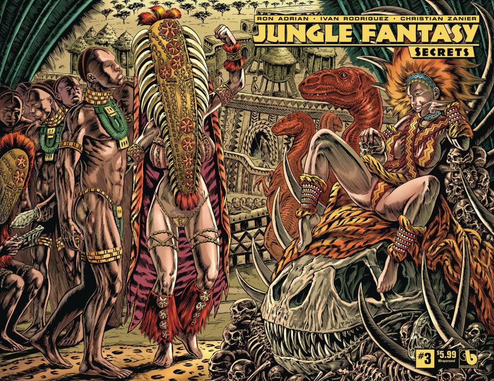 Jungle Fantasy: Secrets #3 (Wrap Cover)