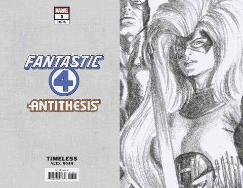 Fantastic Four: Antithesis #3 (Timeless Virgin Sketch Cover)