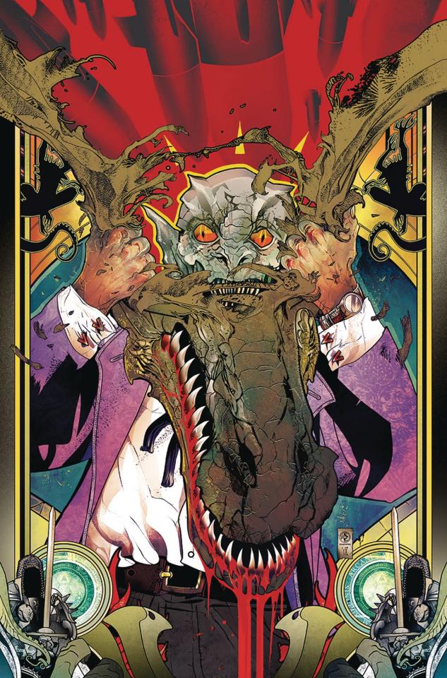 Conspiracy #5: Lizard People (Colapietro Cover)