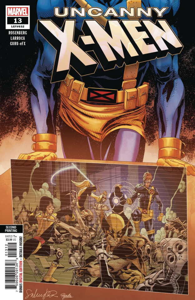 Uncanny X-Men #13 (Larroca 2nd Printing)